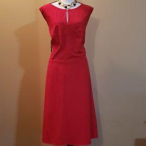 Red Calvin Klein Dress Size 20W